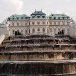 Belvedere Viena fantana