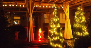 Lucinel Guesthouse at Christmas