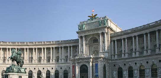Palatul Hofburg adaposteste: