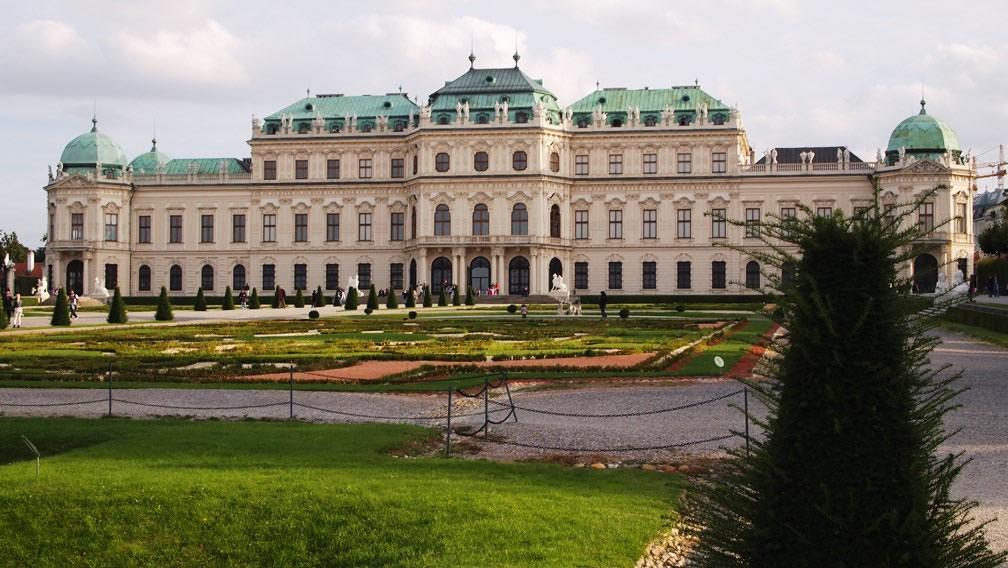 Belvedere Viena gradina