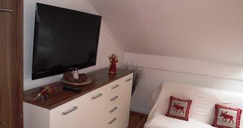 Camera dubla televizor
