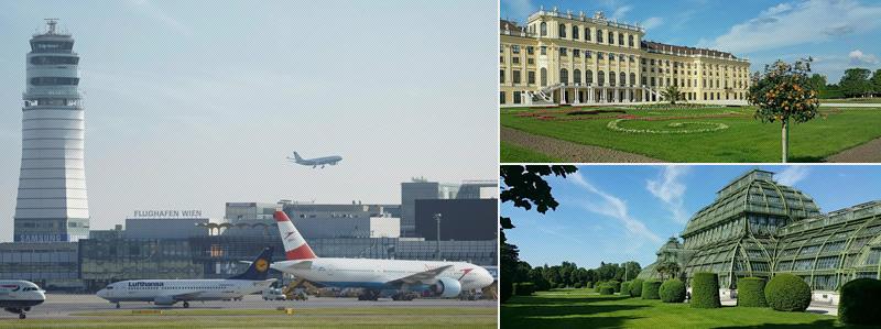 Avion la Viena si transfer gratis la Lucinel