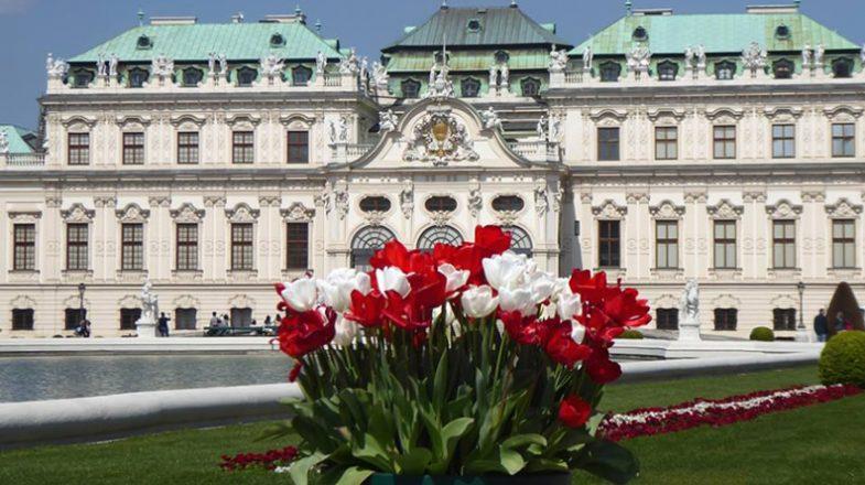 Palatul Belvedere Viena Austria
