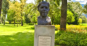 Che Guevara - Parcul Dunarii din Viena