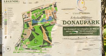Harta - Parcul Dunarii Viena