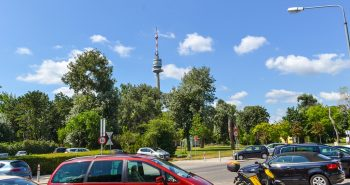 Obiective Turistice Viena - Turnul Dunarii