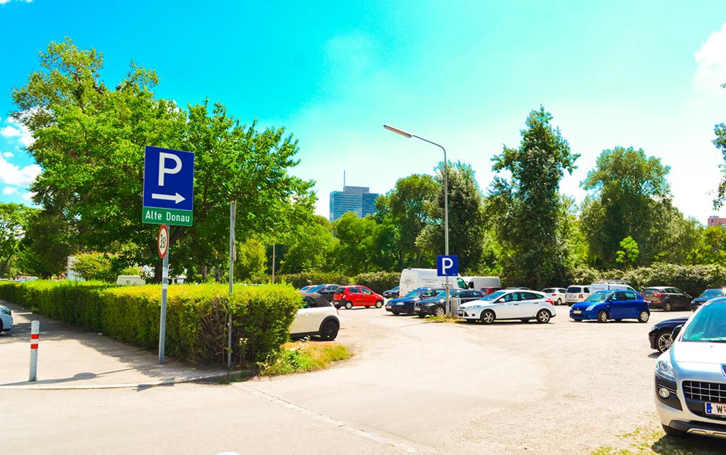Parcare - Parcul Dunarii Viena - Turnul Dunarii Viena