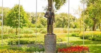 Simon Bolivar - Parcul Dunarii din Viena