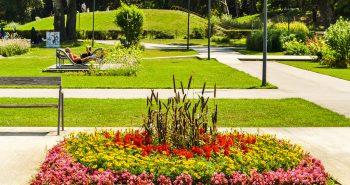 Zona de relaxare - Parcul Dunarii Viena