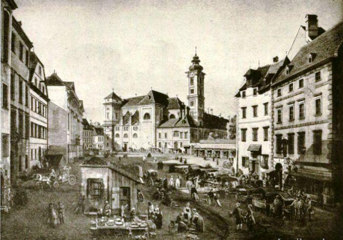 Freyung Viena - Piata veche de Craciun